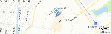 Ивушка на карте Нижнего Новгорода