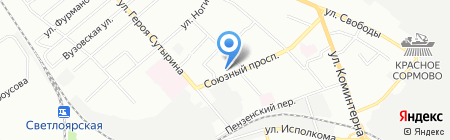 Wolfram на карте Нижнего Новгорода