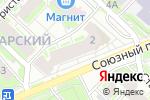 Схема проезда до компании Вояж в Нижнем Новгороде