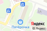 Схема проезда до компании Atha в Нижнем Новгороде