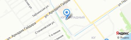 Средняя общеобразовательная школа №161 на карте Нижнего Новгорода