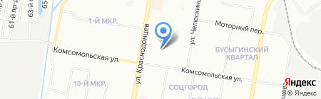Детская школа искусств №18 на карте Нижнего Новгорода