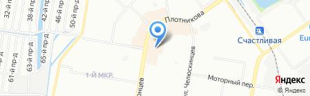 УДОБНО-СБЕРЕЖЕНИЯ на карте Нижнего Новгорода