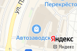 Схема проезда до компании Яркий мир в Нижнем Новгороде