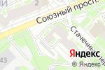 Схема проезда до компании Сеть магазинов цветов в Нижнем Новгороде