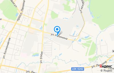 Местоположение на карте пункта техосмотра по адресу Нижегородская обл, г Арзамас, ул Калинина, д 64