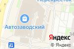 Схема проезда до компании Ателье по ремонту одежды в Нижнем Новгороде