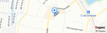Графика плюс на карте Нижнего Новгорода