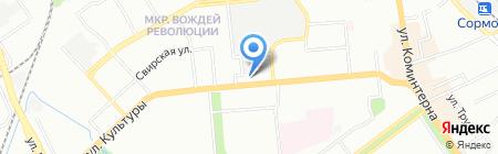 Тиара на карте Нижнего Новгорода