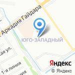 Волшебница на карте Нижнего Новгорода