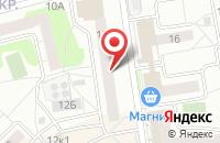 Схема проезда до компании Даласк в Нижнем Новгороде