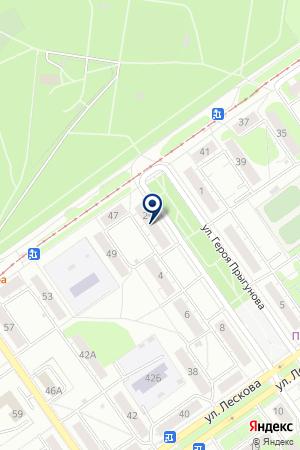 АВТОЗАВОДСКИЙ на карте Нижнего Новгорода