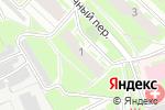 Схема проезда до компании Florange в Нижнем Новгороде