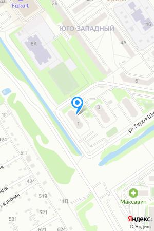 Дом 1 по ул. Героя Шнитникова, ЖК Юго-Западный на Яндекс.Картах