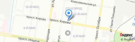Рослайн на карте Нижнего Новгорода