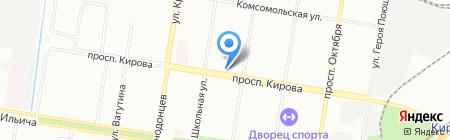 Рукодельница на карте Нижнего Новгорода