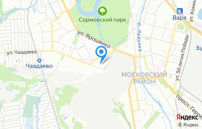 Местоположение на карте пункта техосмотра по адресу г Нижний Новгород, ул Чаадаева, д 3Б