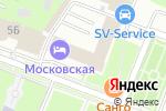 Схема проезда до компании Квелти в Нижнем Новгороде