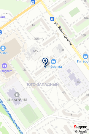 САУНА ПЛЕС на карте Нижнего Новгорода
