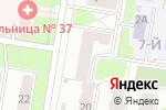 Схема проезда до компании АСайт.ру в Нижнем Новгороде