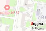 Схема проезда до компании Проектмонтажналадка в Нижнем Новгороде