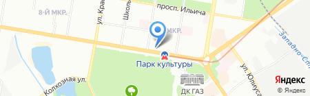 Точка на карте Нижнего Новгорода