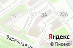 Схема проезда до компании Церковная лавка на Заречной в Нижнем Новгороде