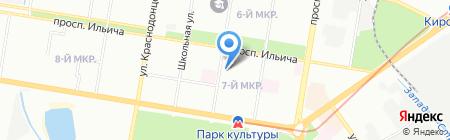 Автомагистраль-ДК на карте Нижнего Новгорода