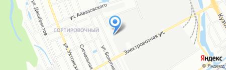 Лудинг-НН на карте Нижнего Новгорода