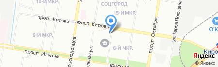 АльянсРС на карте Нижнего Новгорода