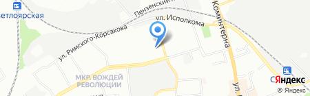 Кот-Садовод на карте Нижнего Новгорода