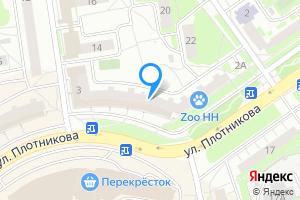 Сдается трехкомнатная квартира в Нижнем Новгороде ул Плотникова, 3