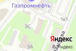 Схема проезда до компании Управление пенсионного фонда РФ в Московском районе в Нижнем Новгороде