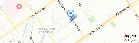 ЧиниШину на карте Нижнего Новгорода