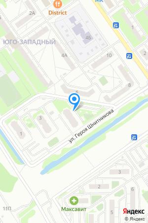 Дом 5 по ул. Героя Шнитникова, ЖК Юго-Западный на Яндекс.Картах