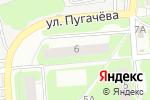 Схема проезда до компании Аварийная служба в Нижнем Новгороде