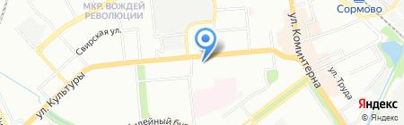 Век окон сервис на карте Нижнего Новгорода
