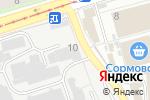 Схема проезда до компании Сормовская кондитерская фабрика в Нижнем Новгороде