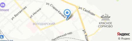 Add Beauty на карте Нижнего Новгорода