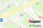 Схема проезда до компании Add Beauty в Нижнем Новгороде