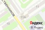 Схема проезда до компании Rams 52 в Нижнем Новгороде