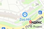 Схема проезда до компании Автошкола в Нижнем Новгороде