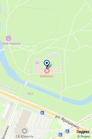 ПОЛИКЛИНИКА ГОРОДСКАЯ БОЛЬНИЦА №27 на карте Нижнего Новгорода