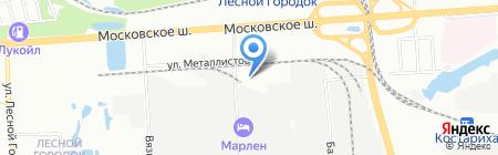 СнабКомплектСервис на карте Нижнего Новгорода