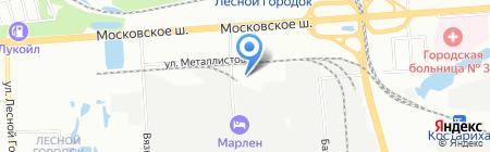 Олекс на карте Нижнего Новгорода