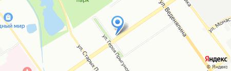 Британика на карте Нижнего Новгорода