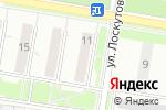 Схема проезда до компании Japan Garage в Нижнем Новгороде