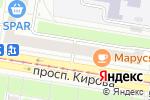 Схема проезда до компании Есть идея в Нижнем Новгороде