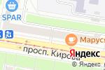 Схема проезда до компании Белая техника в Нижнем Новгороде