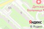 Схема проезда до компании Pegas Touristik в Нижнем Новгороде